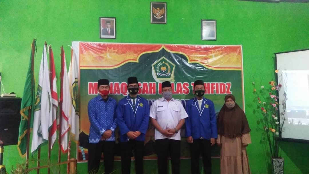 Munaqosah Kelas Tahfidz MTsN 9 Ngawi