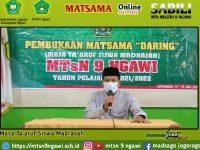 Pembukaan Matsama MTsN 9 Ngawi Tahun Pelajaran 2021/2022