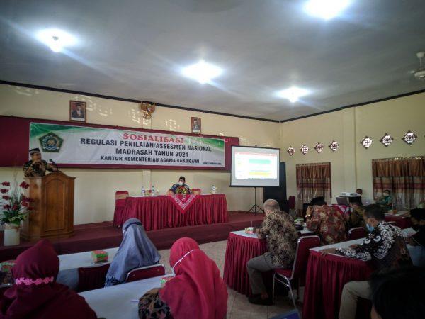 Sosialisasi Assesmen Nasional Di Lingkungan Kankemenag Kab. Ngawi